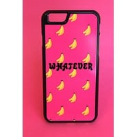 Whatever Banana Print Phone Case