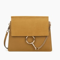 Chloé - Chloé Faye Shoulder Bag, Women's Bags | Chloé Official Website | 3S1231H2O