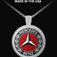 Mercedes benz - Logo necklace logomercedesbenz