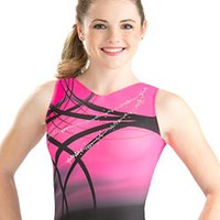 Pink Rhythm Sublimated Leotard from GK Elite