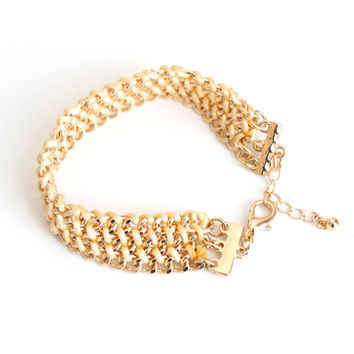 Great Deal New Arrival Shiny Hot Sale Stylish Awesome Gift Accessory Handcrafts Simple Design Metal Chain Bracelet [6586375943]