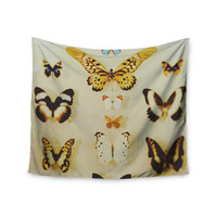 "Chelsea Victoria ""The Butterfly Collection"" Photography Blue Wall Tapestry"