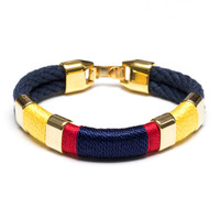 Newbury - Navy/Yellow/Red/Navy/Gold