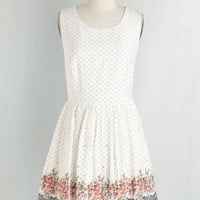 Short Length Sleeveless Fit & Flare Cue the Cuteness Dress