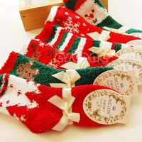 Women's Socks 1 Pair Cozy Soft winter Christmas Socks Gift Festival