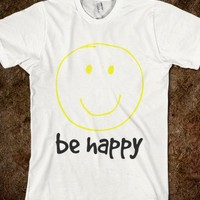 Be Happy with smiley face