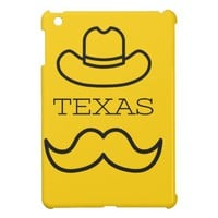 Texas in Yellow 2 iPad Mini Cases