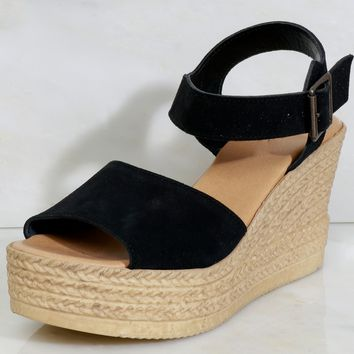 Tiki Time Wedge Black