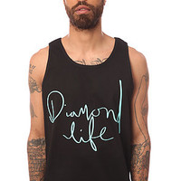 Diamond Supply Co. Tank Top Handwritten in Black
