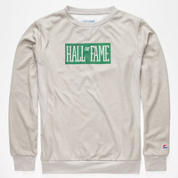 Hall Of Fame Logo Mens Sweatshirt Heather Grey  In Sizes