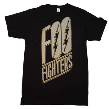 Foo Fighters Slanted Logo Slim Fit