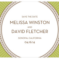 Wedding Ring Save the Date