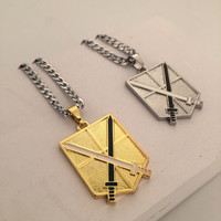 Shiny New Arrival Gift Jewelry Stylish Hot Sale Fashion Hip-hop Club Necklace [6542687299]