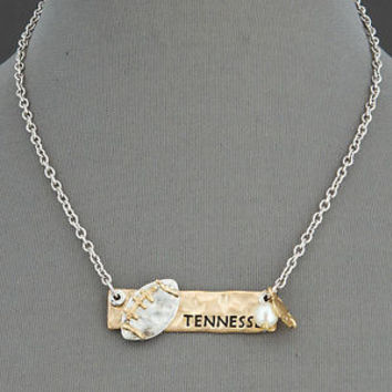 Tennessee Football Necklace