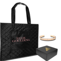 Ellie Goulding - Love Me Like You Do Bracelet & Quilted Logo Tote Bag - TM Stores