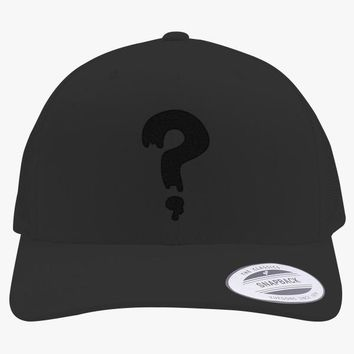 Gravity Falls Soos Embroidered Retro Embroidered Trucker Hat