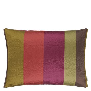 Designers Guild Saarika Berry Decorative Pillow
