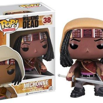 Funko Pop: The Walking Dead Michonne Vinyl Figure Model with box Great quality Christmas Gift