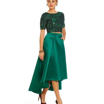 Belle Badgley Mischka Ida Skirt Set | Dillards