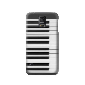 P2082 One Octave Piano Phone Case For Samsung Galaxy S5