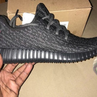 Adidas Yeezy Boost 350  Low Kanye West Triple Black Pirate Black