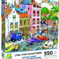 Jan Van Haasteren Cartoon Capers Friday The 13th Jigsaw Puzzle