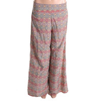 Bar III Womens Pattern Wide Leg Palazzo Pants