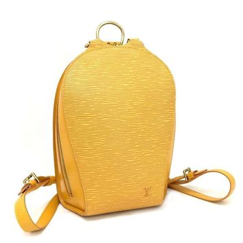 Louis Vuitton Yellow 5560 Epi Canvas Mabillon Backpack (Authentic Pre-owned)