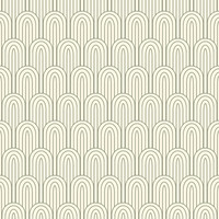 Retro Nouveau Removable Wallpaper Decal