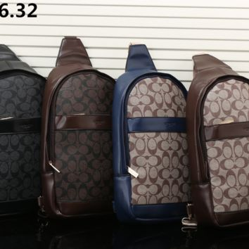 Coach Fashion casual Backpack [305787437085]