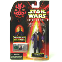Sio Bibble Star Wars Episode I CommTech Collection 2 Action Figure
