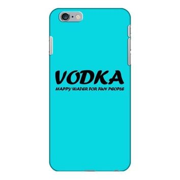 vodka water for happy people t shirt s m l xl 2xl 3xl funny beer keg c iPhone 6/6s Plus Case