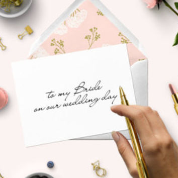 Wedding Card to my Bride, to my Groom-DIY Love Notes for Him-Love Card for Anniversary-I Have Always Known It Was You Love Note