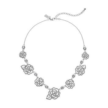 Kate Spade New York Crystal Rose - S/O Necklace