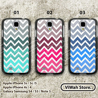Chevron S4 S3 Case,colorful Chevron Samsung s3 s4 Hard Case Rubber Case,cover skin case for Samsung Galaxy S3 S4 case,More styles for you