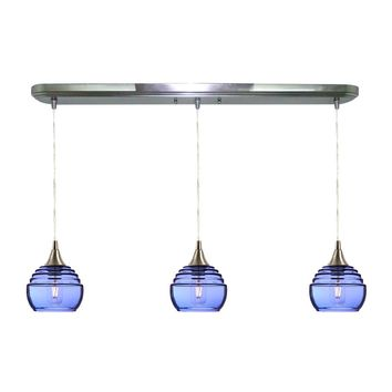 Lucent 3 Pendant Linear Chandelier: Form No. 302a
