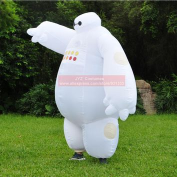 Halloween  Funny  Adults  Inflatable  Baymax  Costume