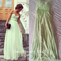 Charming Sweetheart Floor Length Prom Dresses from Sw Dresses