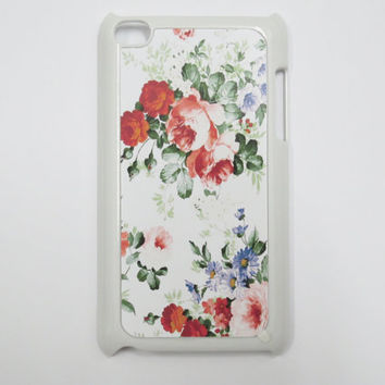 Flowers ipod touch case / ipod case /ipod cover