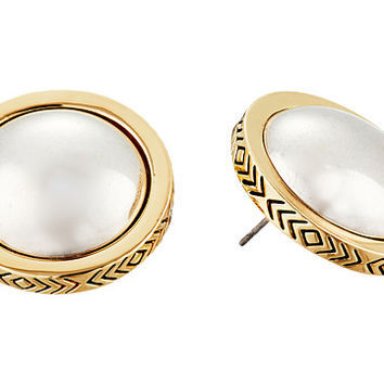 House of Harlow 1960 Desert Sun Button Earrings Silver - Zappos.com Free Shipping BOTH Ways