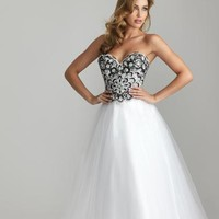 2013 Corset Top Night Moves Prom Dress 6626