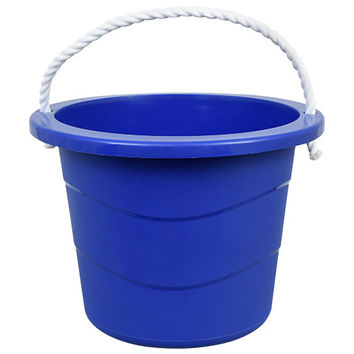 Bulk Multipurpose Rope-Handle Bucket, 2.5 Gal. at DollarTree.com