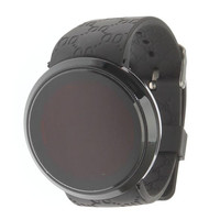 Sport Watches for Women Hot Fashionable LED Touch Screen Watch Rounded Sport Digital Watch Black for Man Relojes Mujer