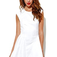 Keepsake Another World Dress - Womens Dress - White