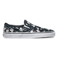 Vintage Floral Slip-On | Shop Classic Shoes at Vans