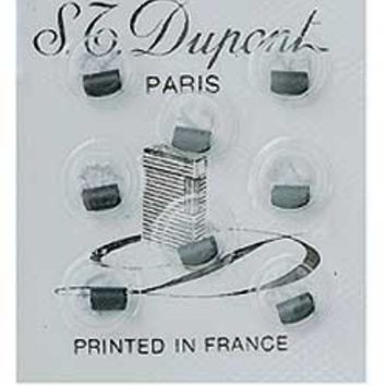 S.T. Dupont Grey Flints For Ligne 1, 2 and Gatsby Lighters