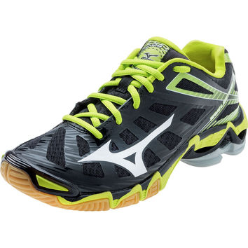 Mizuno Wave Lightning Rx3 Womens Black Lime