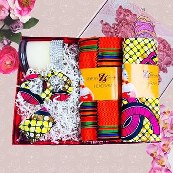 BLUSHING BEAUTY HEADWRAP BOX