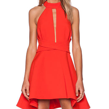Cameo Breaking Hearts Dress in Red