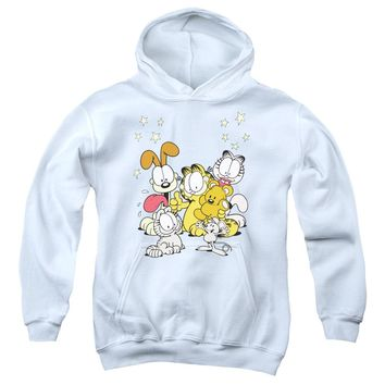 Garfield - Friends Are Best Youth Pull Over Hoodie